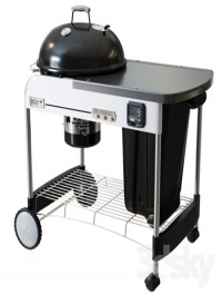 Charcoal Grill Deluxe GBS