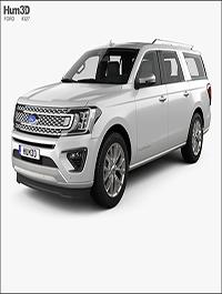 Hum3D - Ford Expedition MAX Platinum 2017