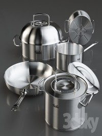 Cookware set Fissler Original Pro