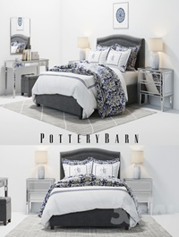 Pottery Barn Tamsen Bed set 02