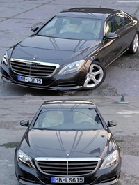 Mercedes Benz S Class LWB 2017 3D Model
