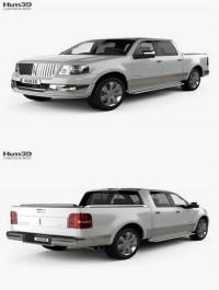 Lincoln Mark LT 2005 3D Model