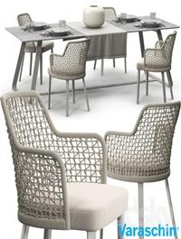 Varaschin Emma chair set