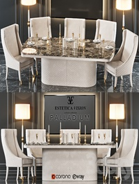 Table chair Palladium