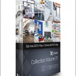 3D Interiors – CGAxis Collection Volume 1