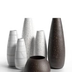 Porcelain Vases 4 3D model