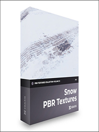 CGAxis Snow PBR Textures – Collection Volume 12