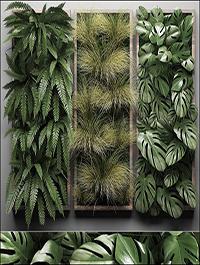 Vertical Garden 1 3D model