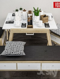 Decorative set of table _VOX _Spot