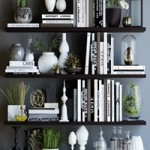 Black and white decor set 2