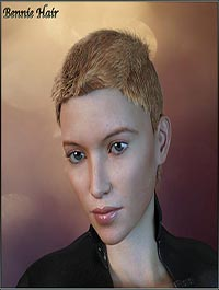 Bennie Hair For G3/G8 Daz by RPublishing