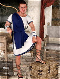 dForce Toga Outfit for Genesis 8 Male(s)