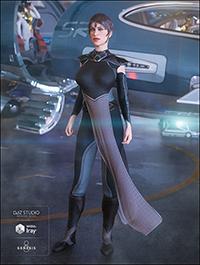 dForce G.I.S. Admiral for Genesis 8 Female(s)