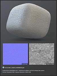 Surface Mimic - human skin displacement textures