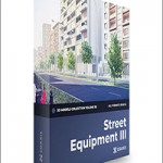 Street Equipment 3D Models Collection – CGAxis Volume 113