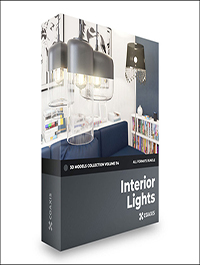 CGAxis Interior Lights 3D Models Collection – Volume 114