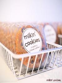 Milkin Cookies in basket