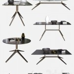 POLIFORM COFFEE TABLES YARD