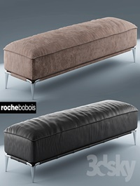 Poof rochebobois POUF RECTANGULAIRE ELLICA