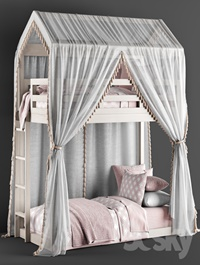 RH Cole House Bunk Bed