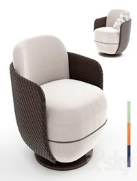 armchair Miles Lounge by Wittmann