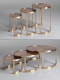 Coffee table ANYA Fendi Casa