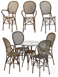 Sika Design Rossini chair Originals table set