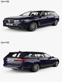 Hum3D BMW X7 (G07) 2019 3D model