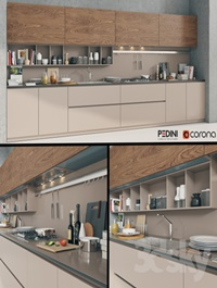 Kitchen Pedini Arke