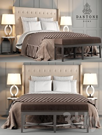 Dantone Home Bed Jarrow Buttons
