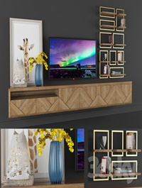 dekor set (tv console) -1