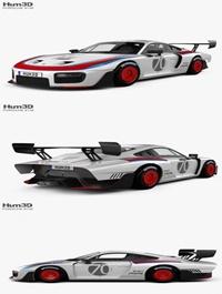 Hum3D Porsche 935 2019 3D model