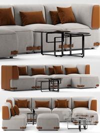 Sofa fendi soho