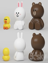 line friends character