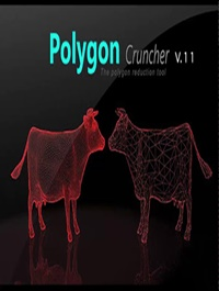 Mootools Polygon Cruncher 12.25 for 3ds Max, Maya & SketchUp
