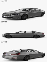 Hum3D BMW 7-series L 2019 3D model