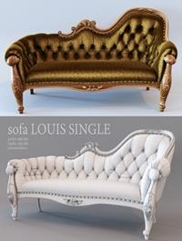 sofa LOUIS SINGLE
