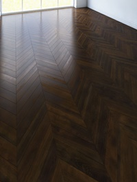 Cgtrader Parquet chevron classic dark Floor VR / AR / low-poly 3d model