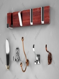 Wall Mounted Clothes Hooks