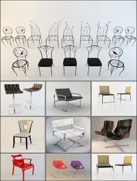 3DDD Sidechairs 3D models