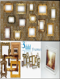 3DDD Highly Detaild Photo Frames