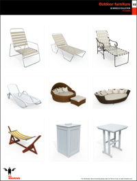 10ravens 3D Models collection 014 Outdoor furniture 02