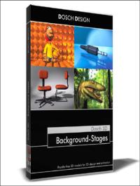 Dosch Design 3D Background Stages