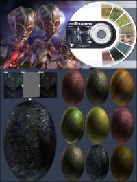 3D Total Textures V11 R2 Alien Organic