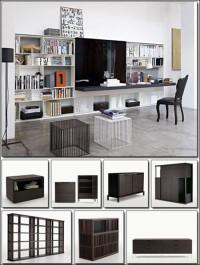 B&B Italia 3D Storage & Wall Systems 3d Models