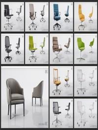 Viz People 3D Seating Furniture