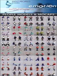 AXYZ DESIGN People 3D Models & Motion Capture Data