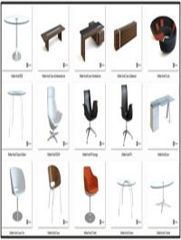 3D Models Furniture Walter Knoll