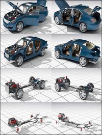Dosch 3D Car Details 2015