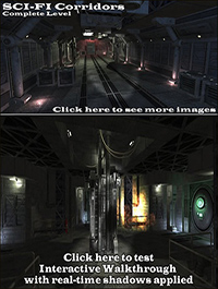 DEXSOFT-GAMES Sci-Fi Corridors Complete Level
